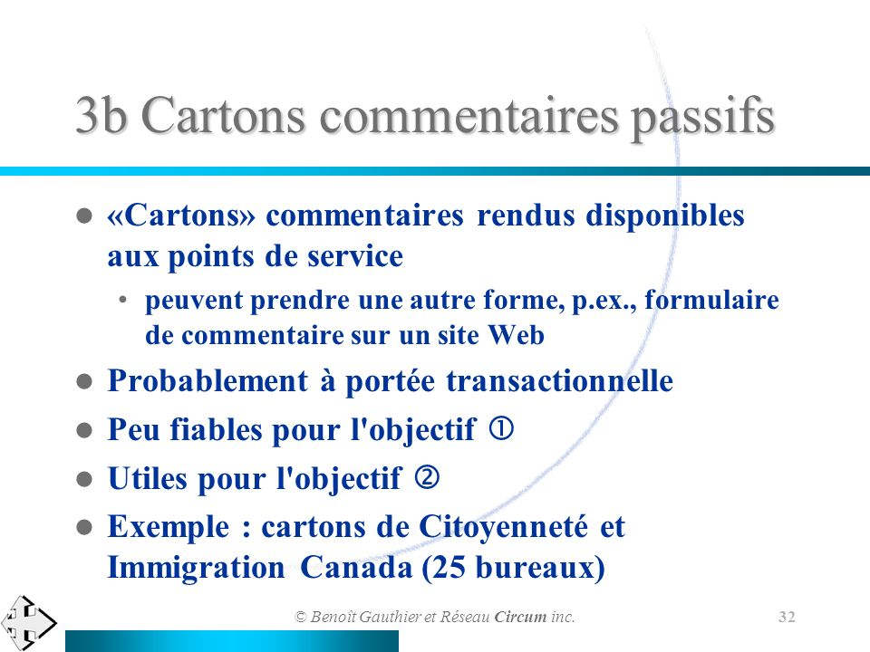 3b Cartons commentaires passifs