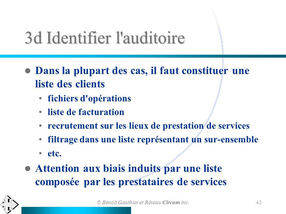 3d Identifier l auditoire