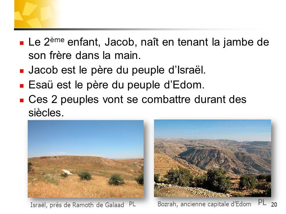 Jacob est le père du peuple d'Israël.