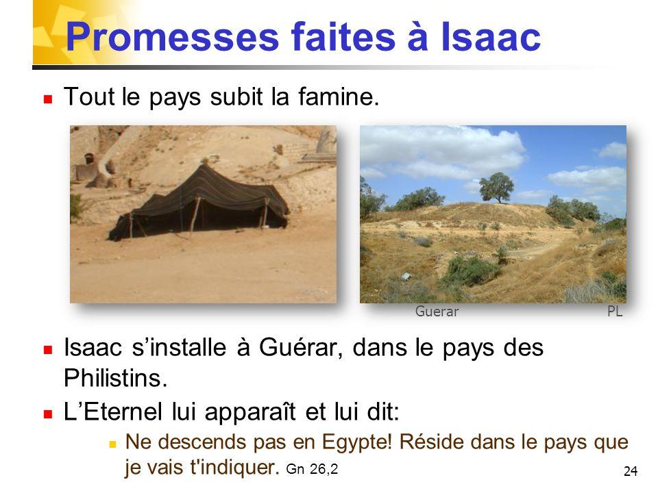 Promesses faites à Isaac