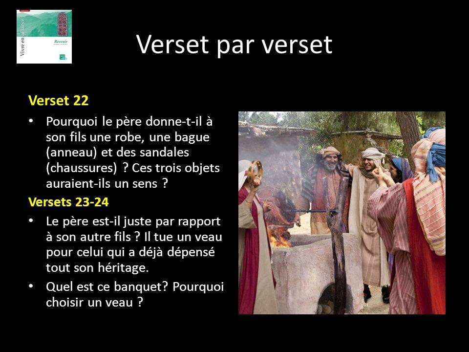 Verset par verset Verset 22
