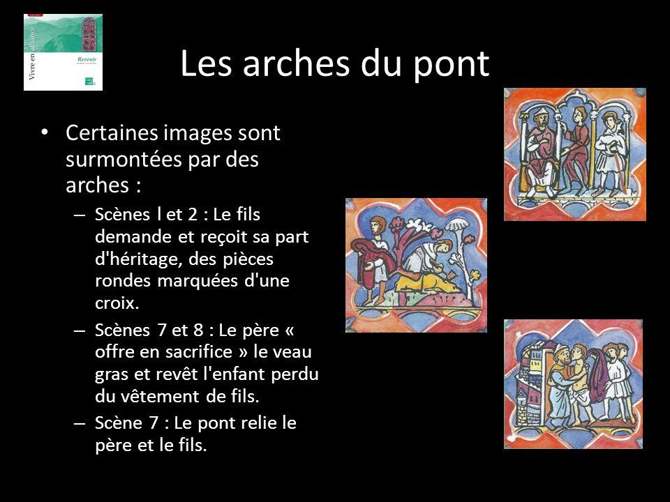 Les arches du pont Certaines images sont surmontées par des arches :