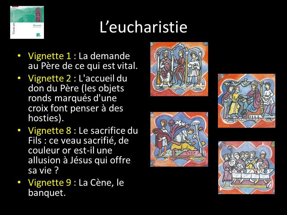 L'eucharistie Vignette 1 : La demande au Père de ce qui est vital.