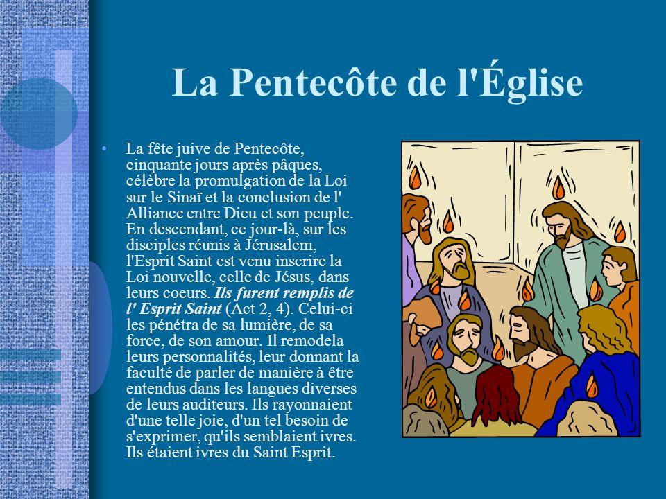 La Pentecôte de l Église