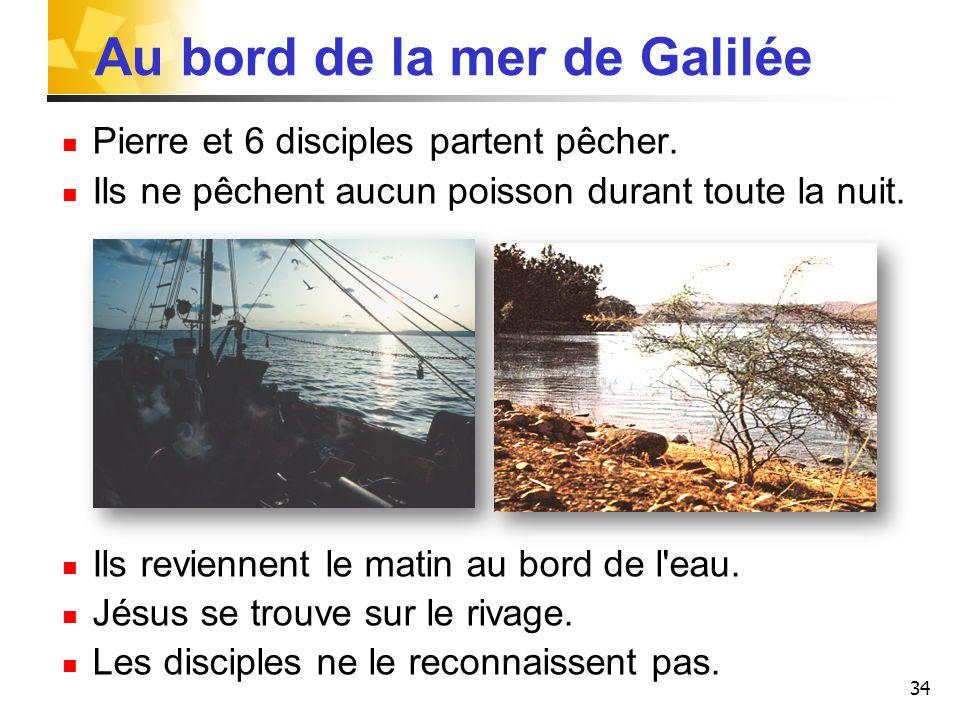 Au bord de la mer de Galilée