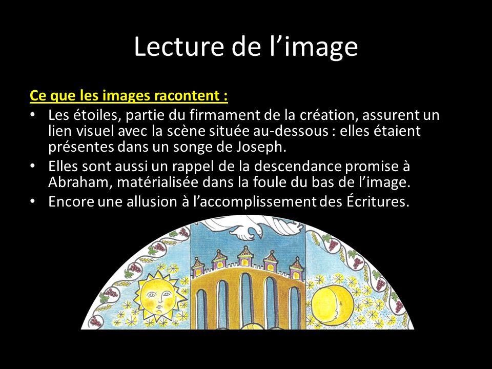 Lecture de l'image Ce que les images racontent :
