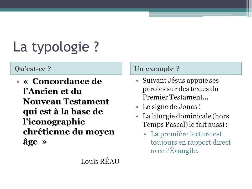 La typologie Qu'est-ce Un exemple