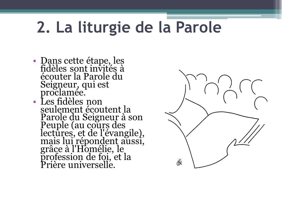 2. La liturgie de la Parole