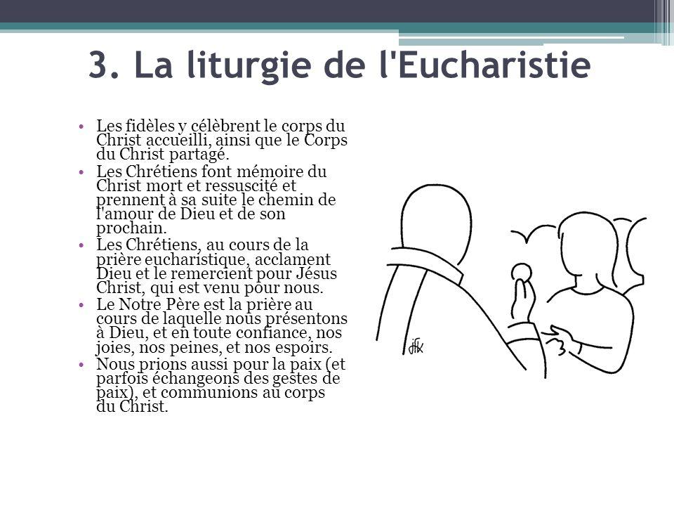 3. La liturgie de l Eucharistie