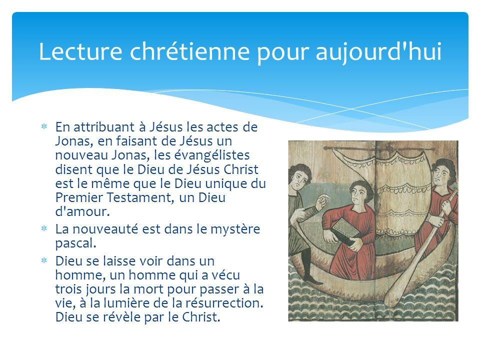 Lecture chrétienne pour aujourd hui
