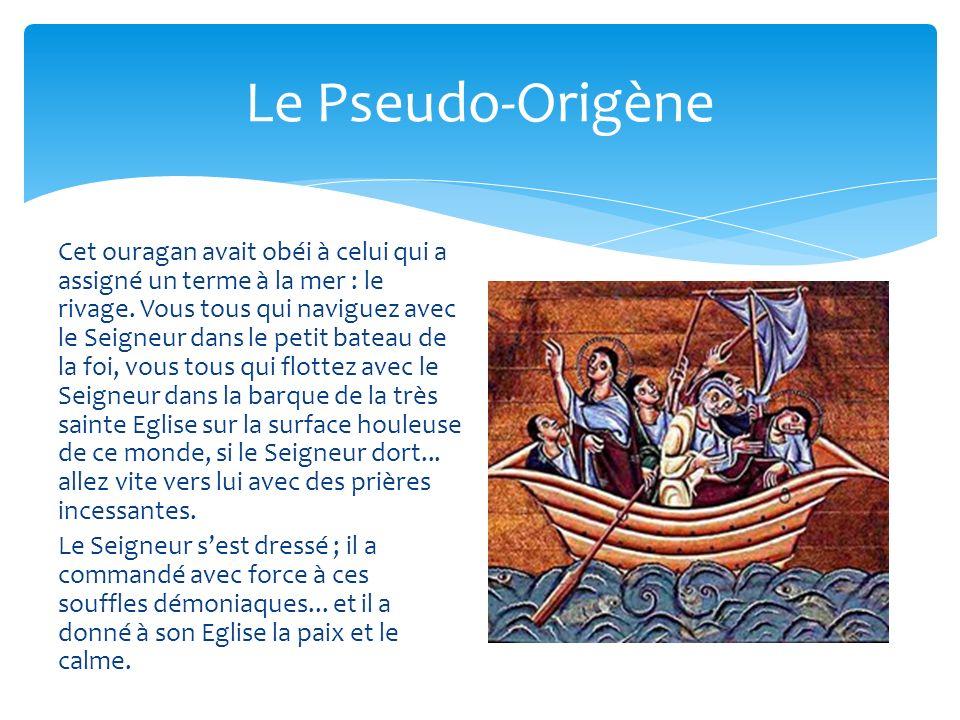 Le Pseudo-Origène
