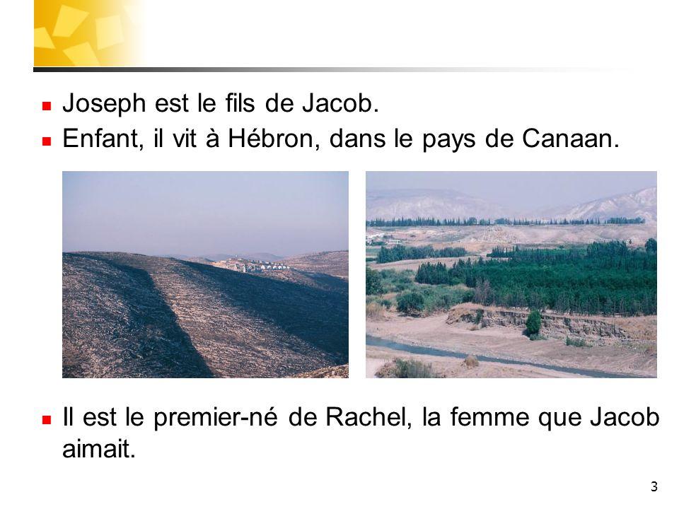 Joseph est le fils de Jacob.