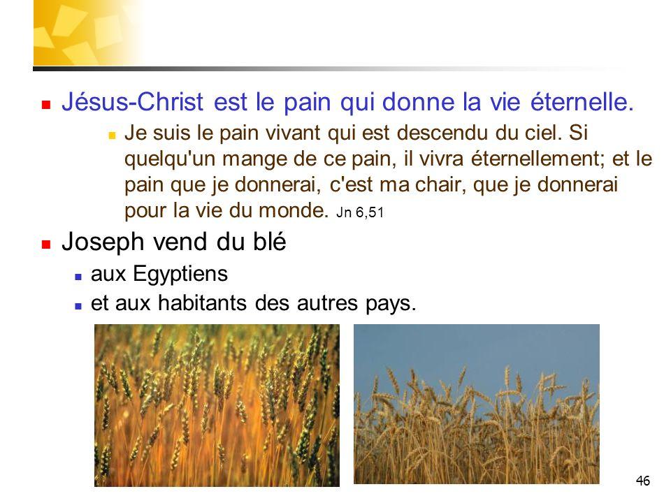 Jésus-Christ est le pain qui donne la vie éternelle.
