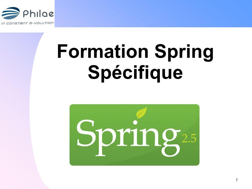 Formation Spring Spécifique