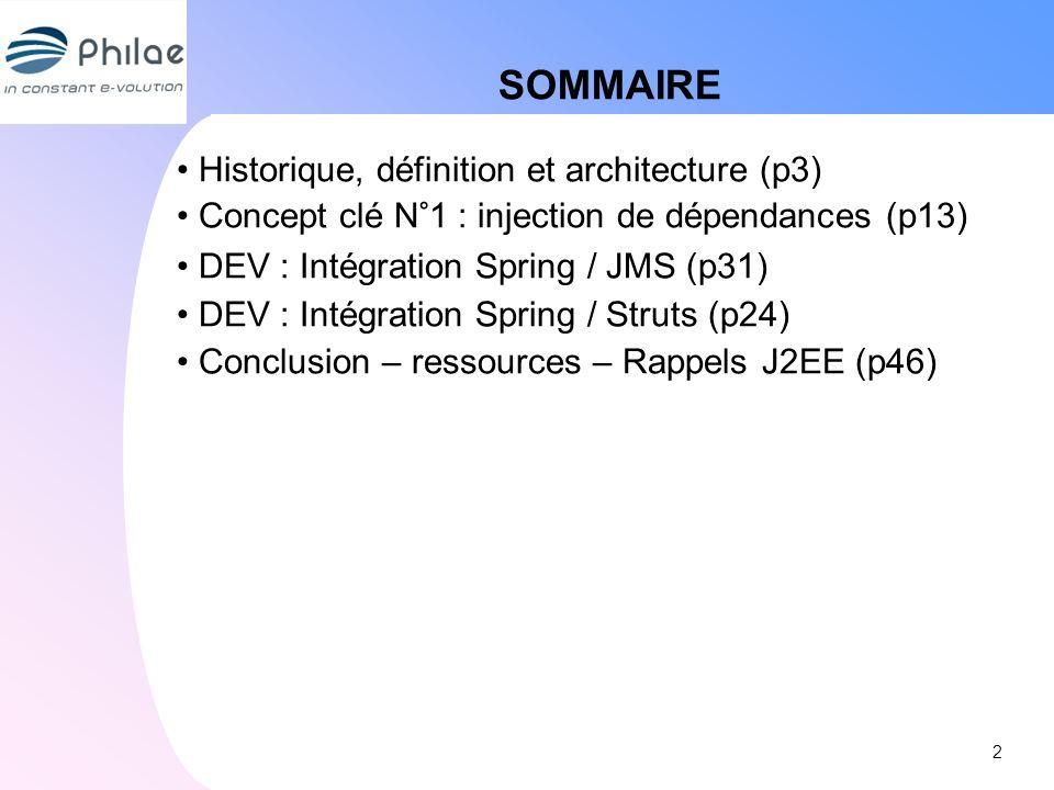 SOMMAIRE Historique, définition et architecture (p3)