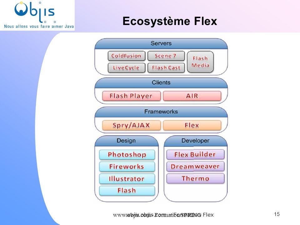 Ecosystème Flex www.objis.com - Formation SPRING