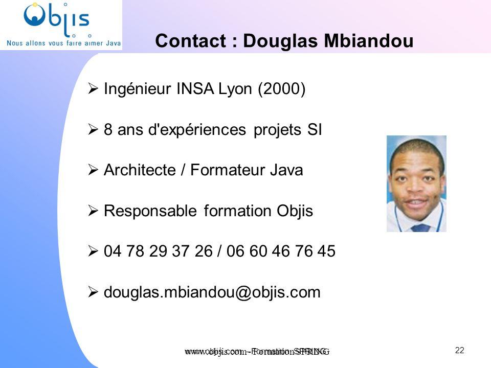 Contact : Douglas Mbiandou