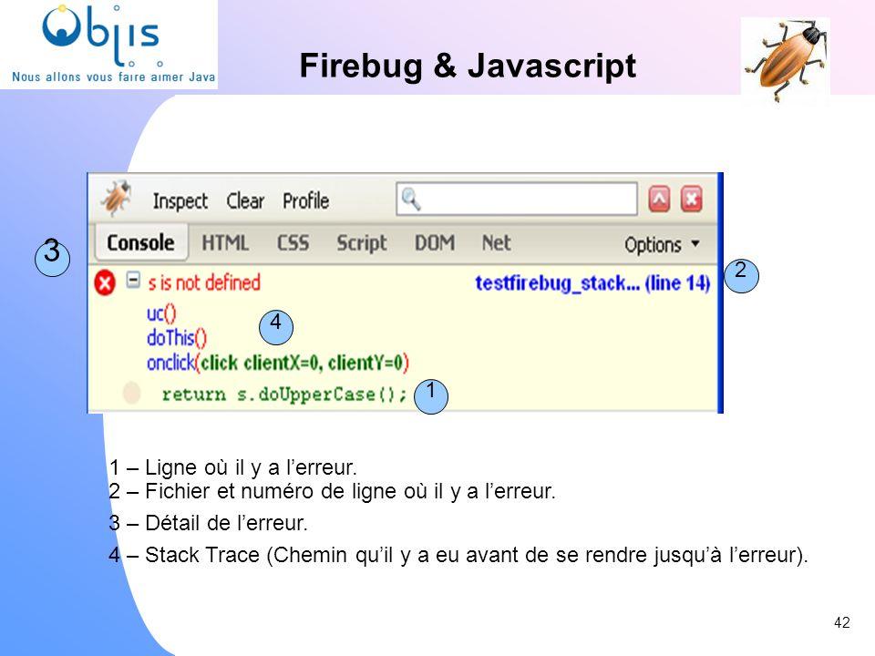 Firebug & Javascript 3 2 4 1 1 – Ligne où il y a l'erreur.