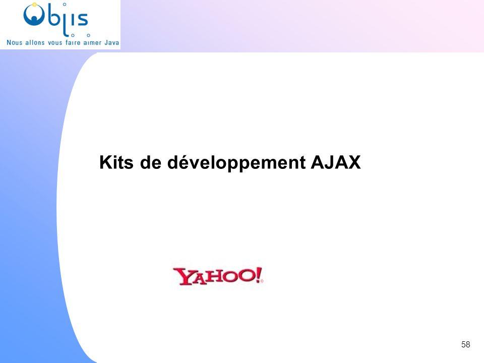 Kits de développement AJAX