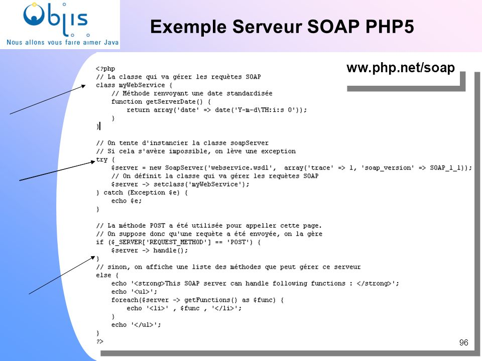 Exemple Serveur SOAP PHP5