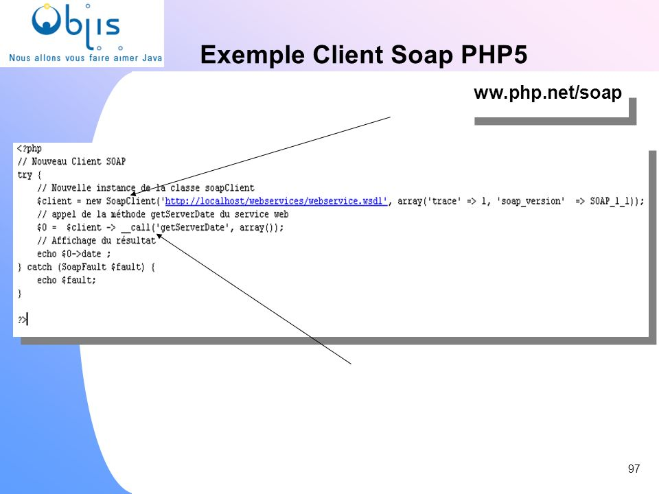 Exemple Client Soap PHP5
