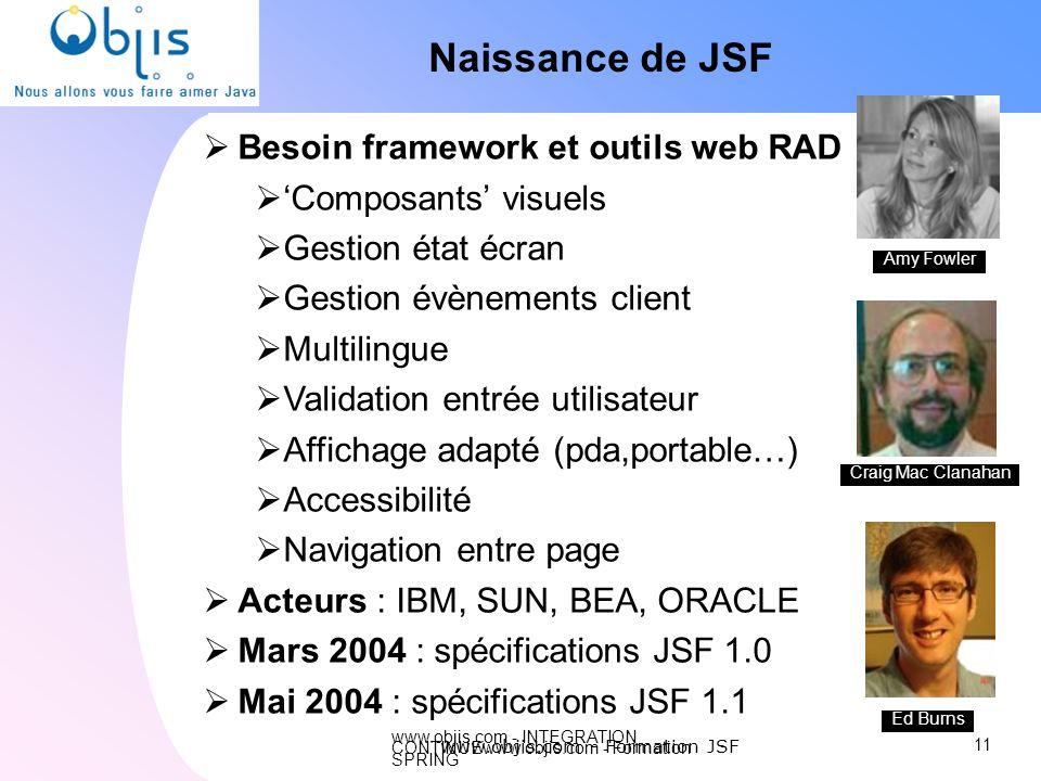 www.objis.com - Formation JSF