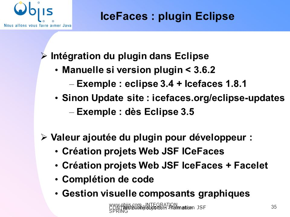 IceFaces : plugin Eclipse