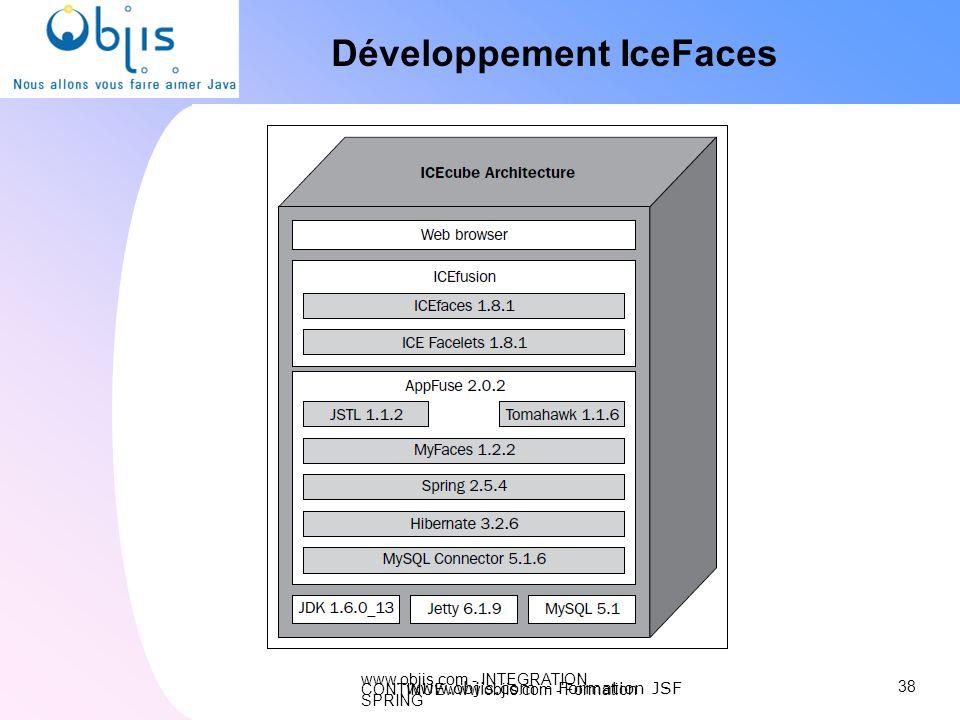 Développement IceFaces