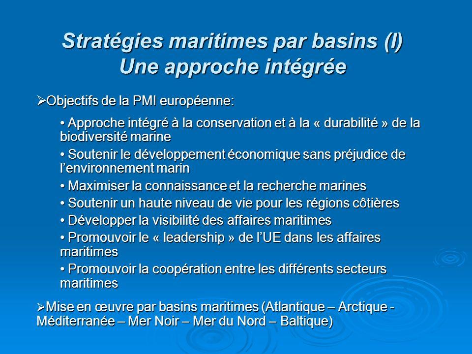 Stratégies maritimes par basins (I) Une approche intégrée