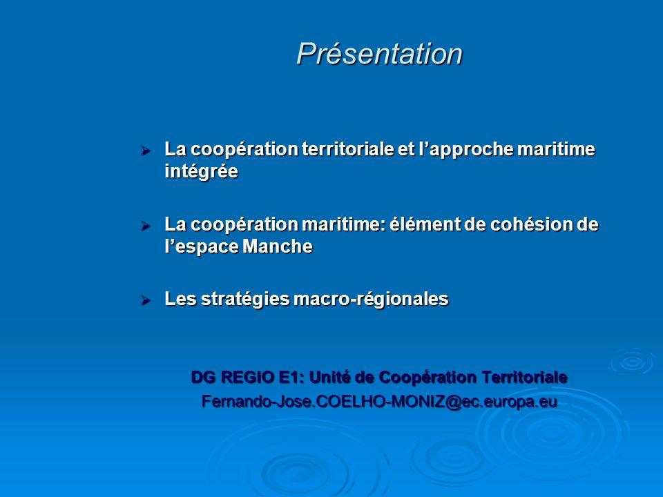 DG REGIO E1: Unité de Coopération Territoriale