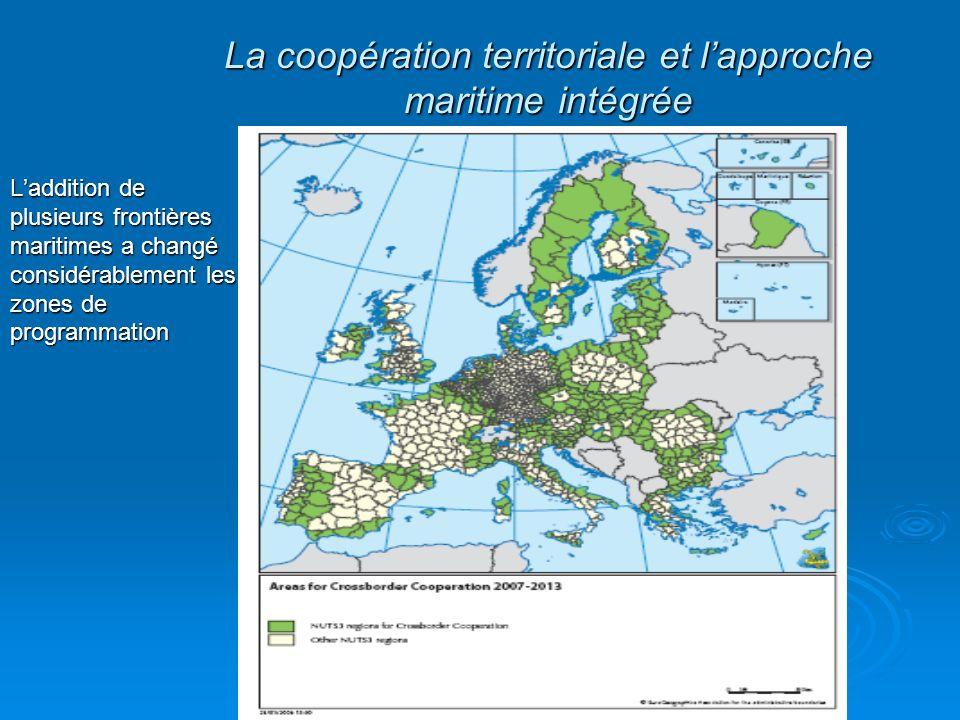 La coopération territoriale et l'approche maritime intégrée