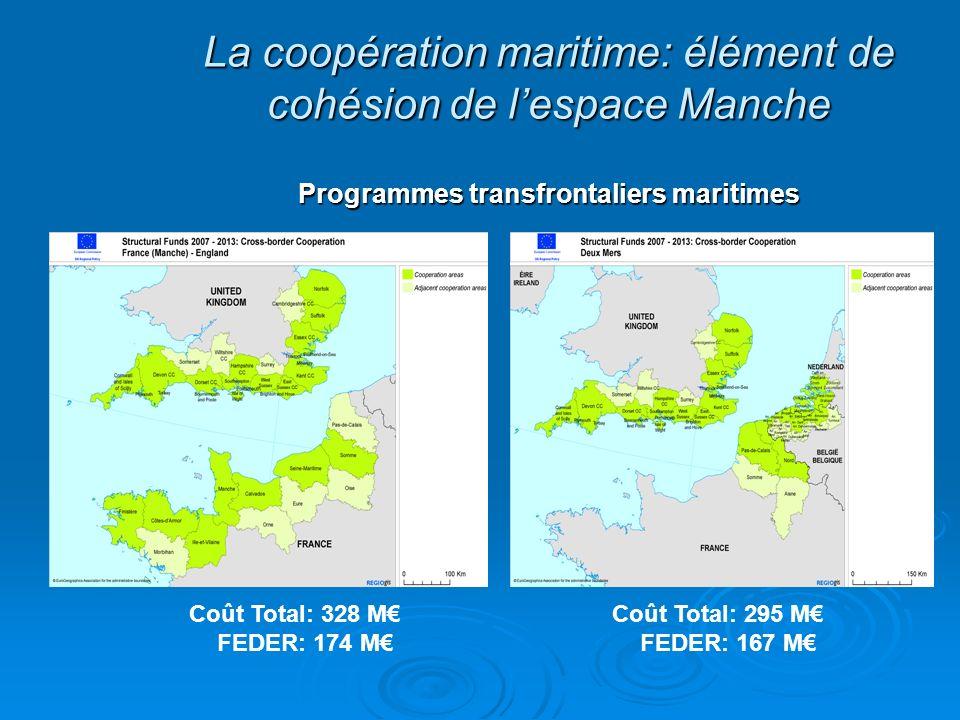La coopération maritime: élément de cohésion de l'espace Manche