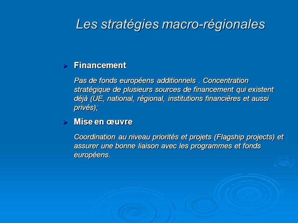 Les stratégies macro-régionales
