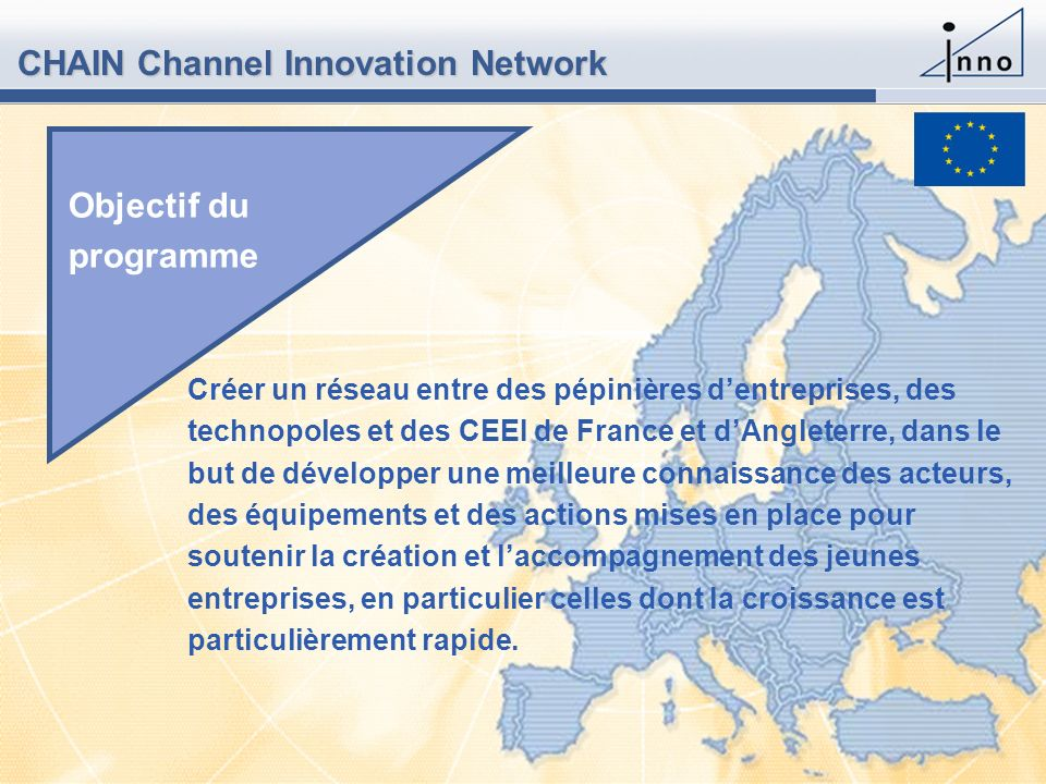 CHAIN Channel Innovation Network