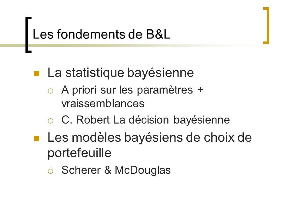 La statistique bayésienne