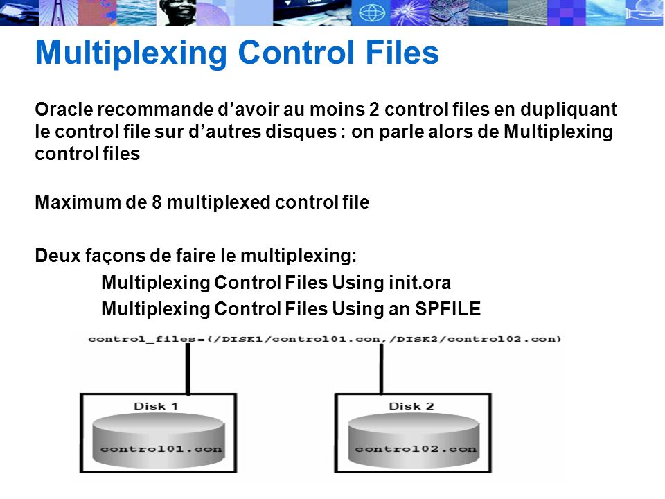 Multiplexing Control Files