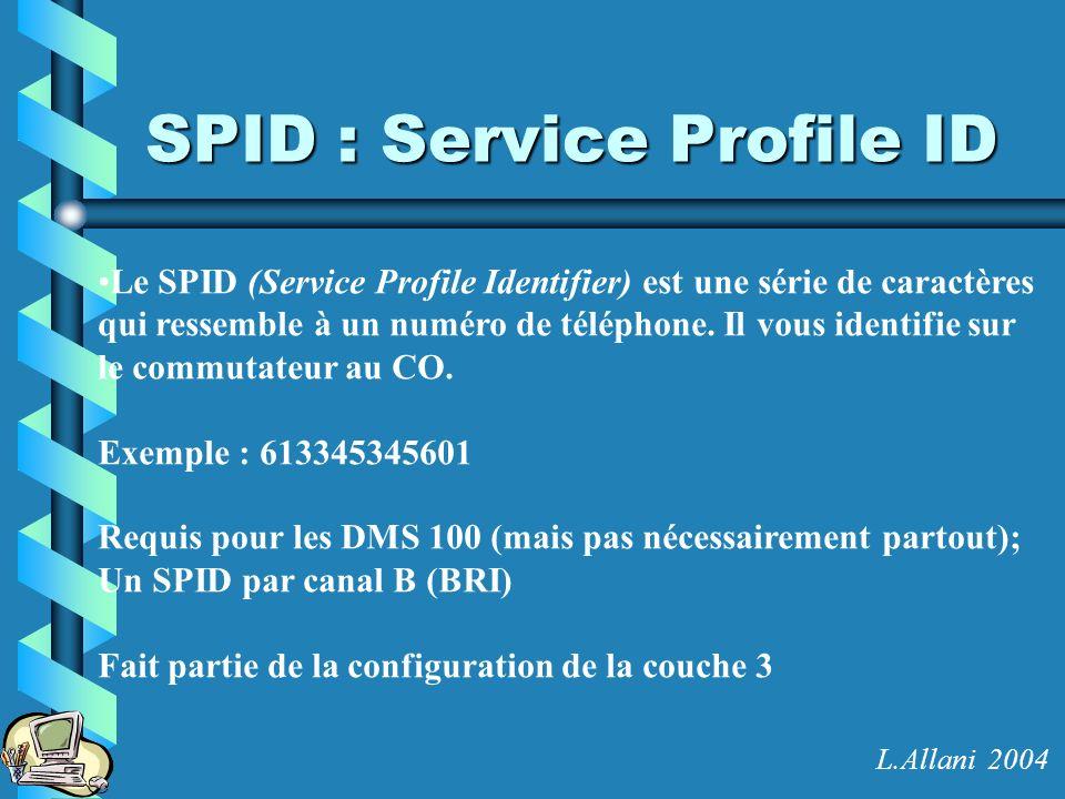 SPID : Service Profile ID