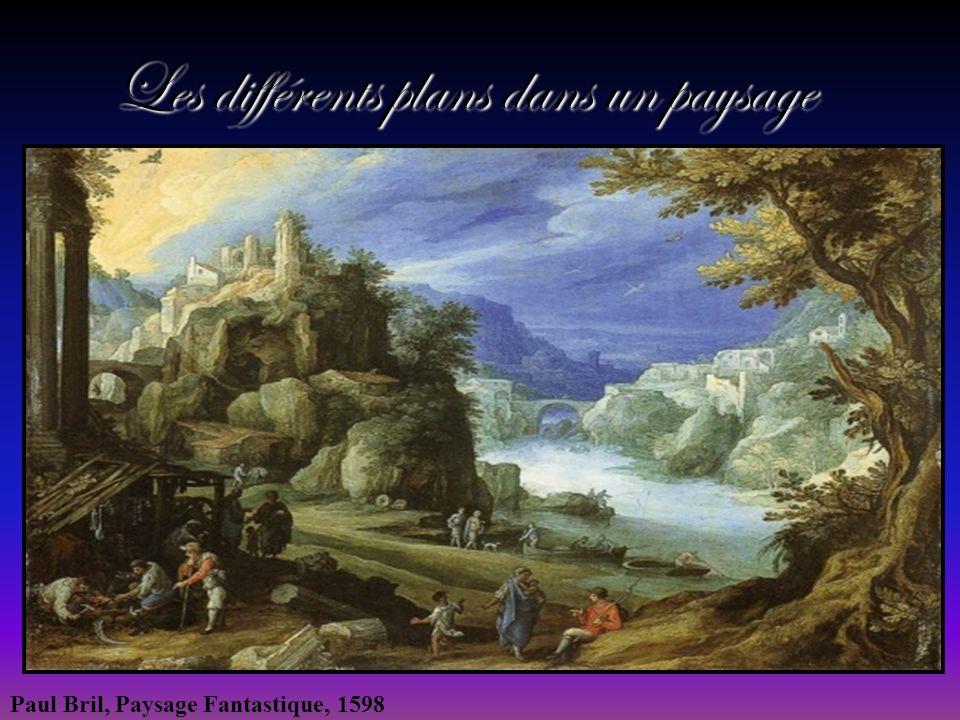 Les différents plans dans un paysage