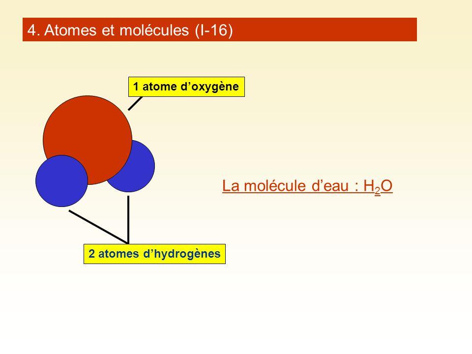 4. Atomes et molécules (I-16)