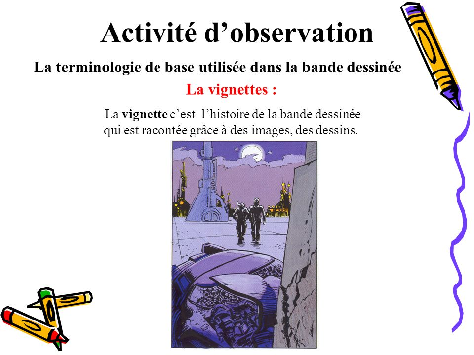 Activité d'observation