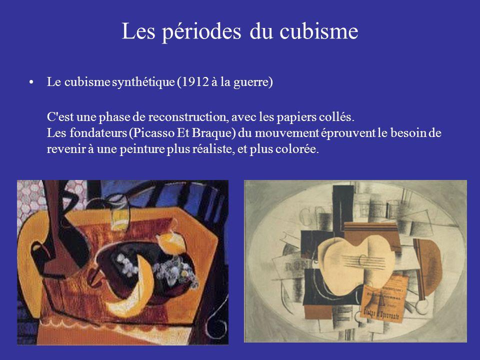 Les périodes du cubisme