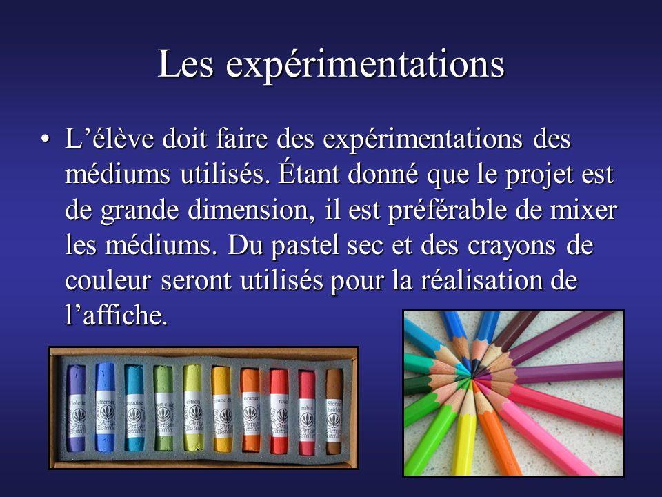 Les expérimentations