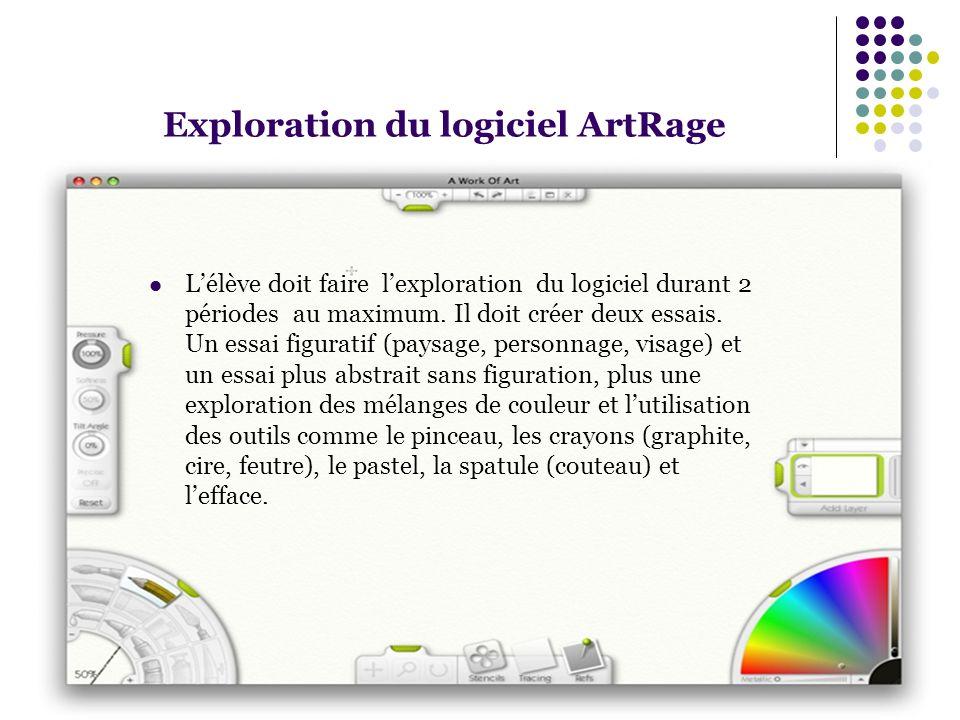 Exploration du logiciel ArtRage