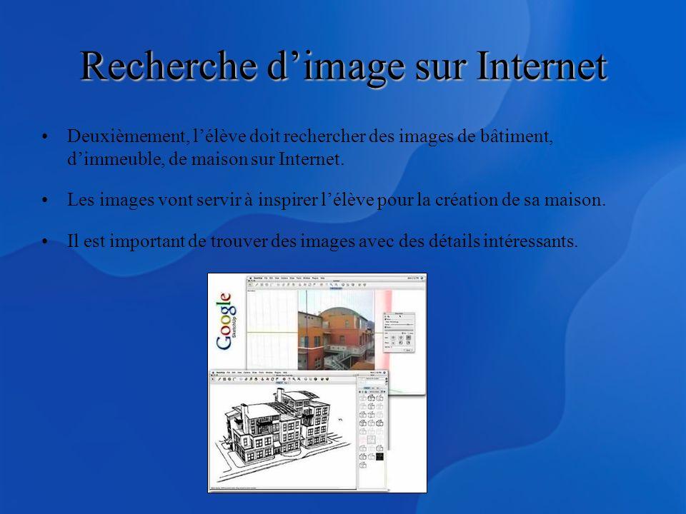 Recherche d'image sur Internet