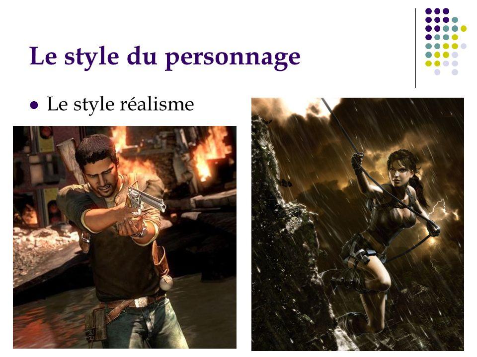 Le style du personnage Le style réalisme