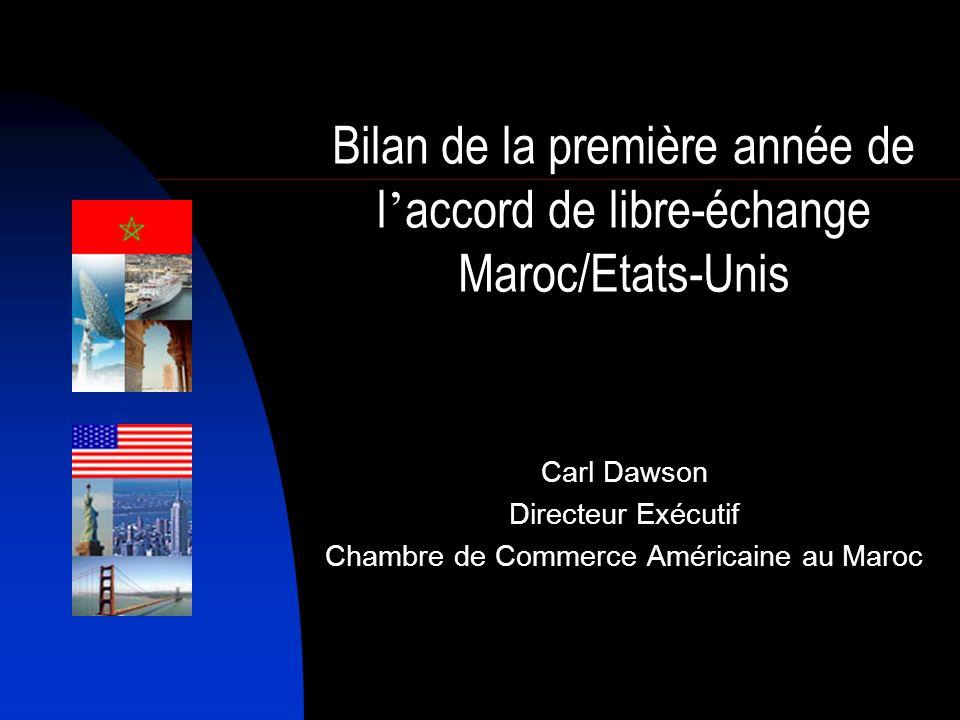 Carl Dawson Directeur Exécutif Chambre de Commerce Américaine au Maroc