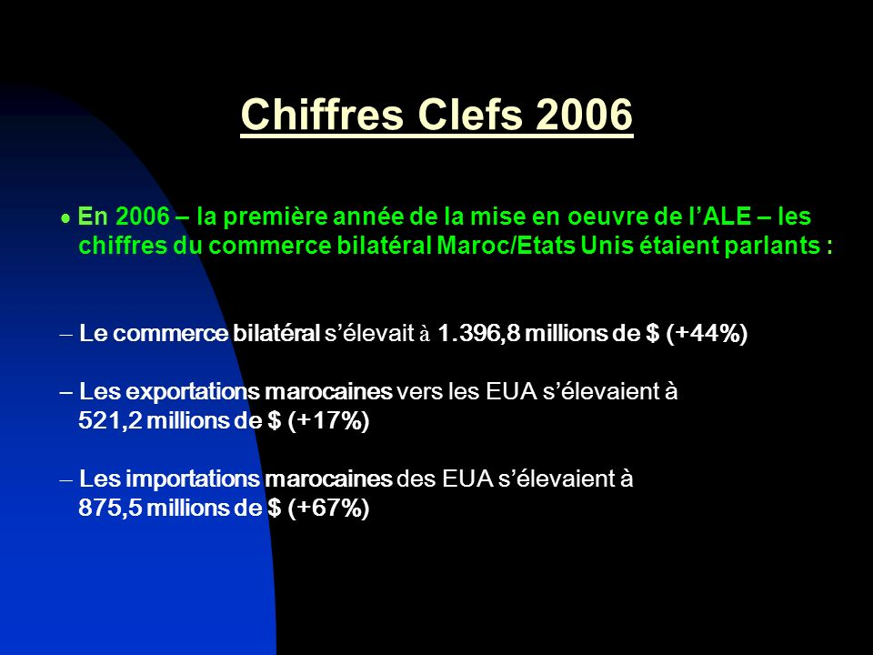 Chiffres Clefs 2006