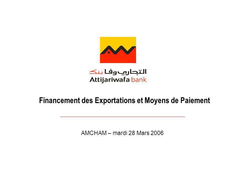 Financement des Exportations et Moyens de Paiement
