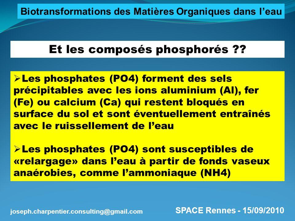 Et les composés phosphorés