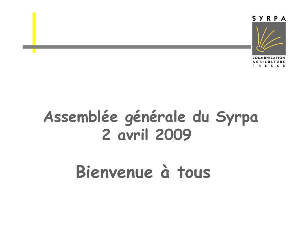 Assemblée générale du Syrpa